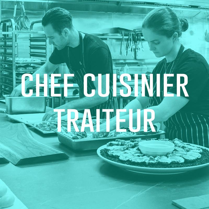 Chef cuisinier traiteur (H/F)