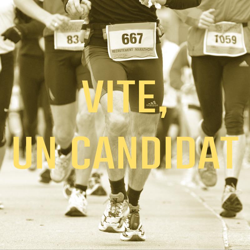 Vite, trouvez moi un candidat…