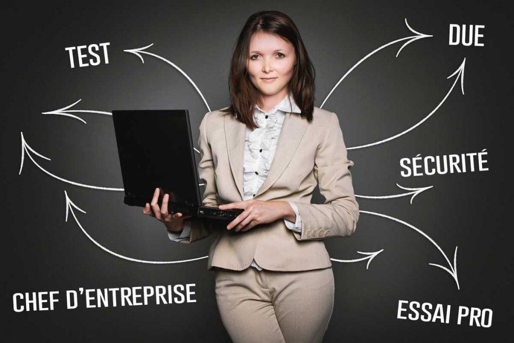 test professionnel chef d'entreprise
