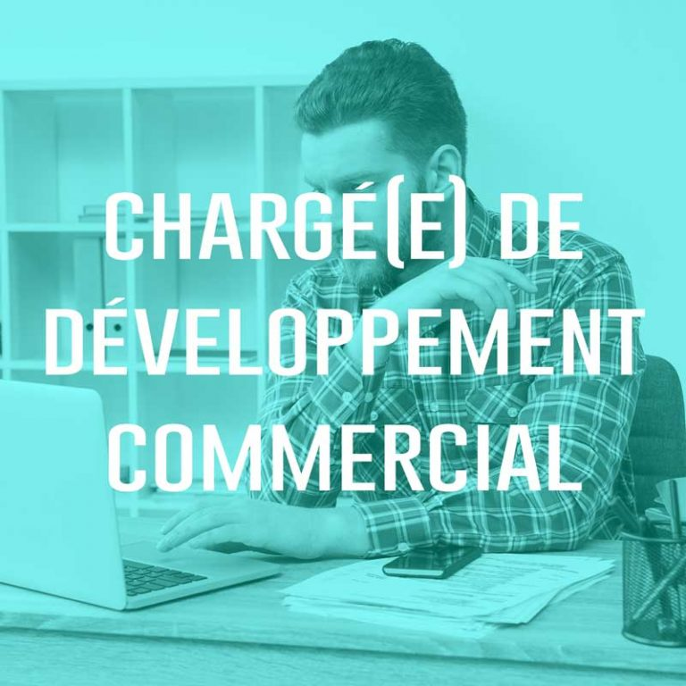 Chargé(e) de développement commercial
