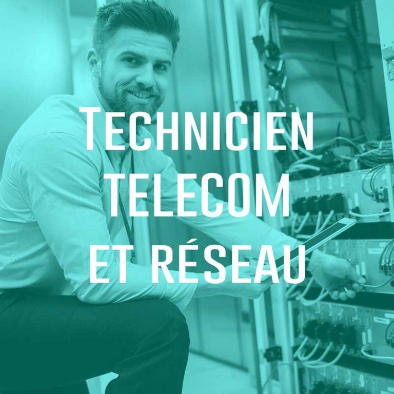 Technicien Telecom et réseau (H/F)