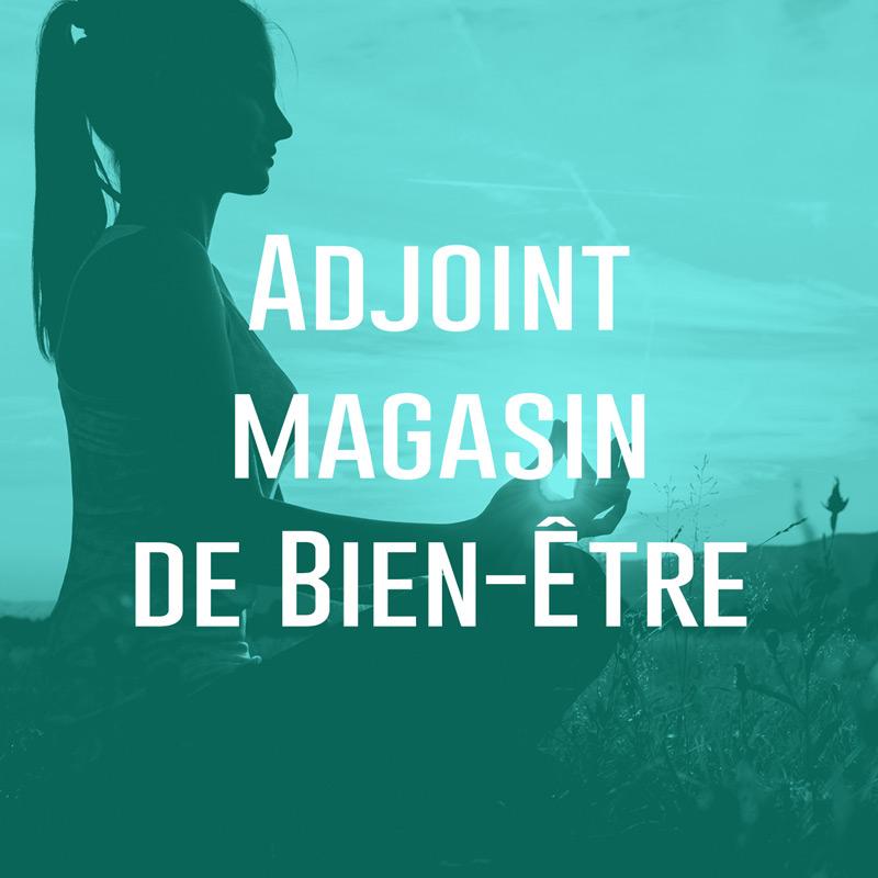 Adjoint Magasin de Bien-Être (H/F)