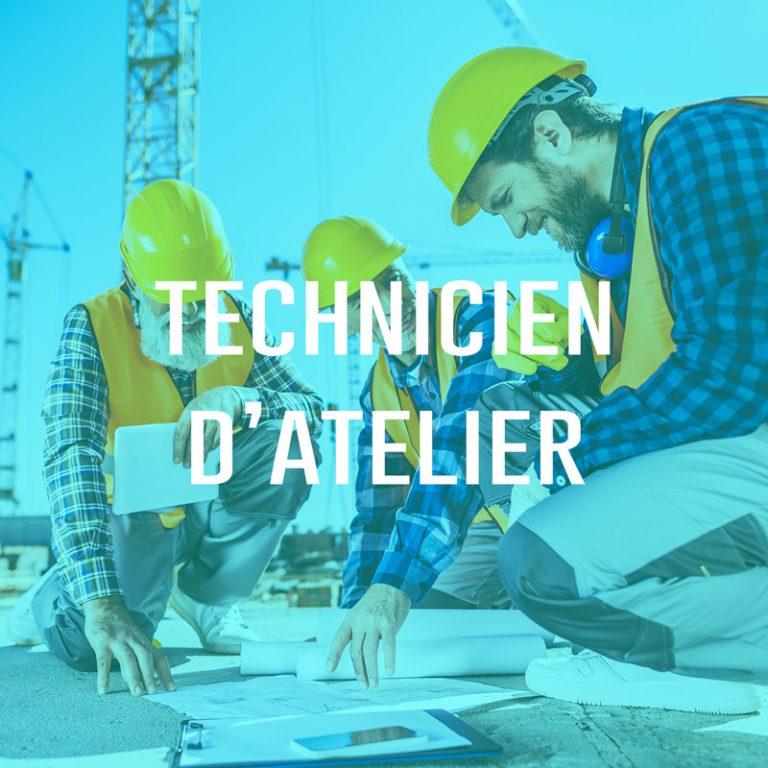 Technicien d'atelier (H/F)