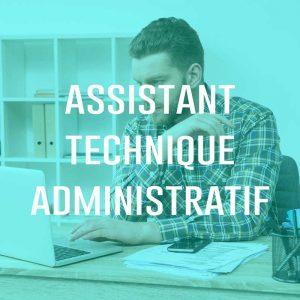 Recrutement Assistant Technique Administratif