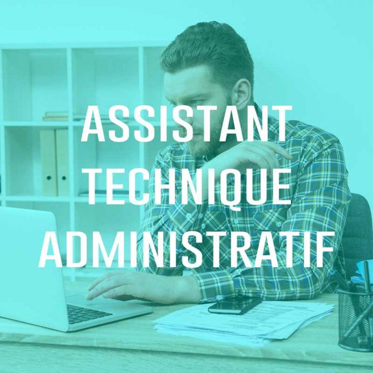 Assistant Technique Administratif (H/F)