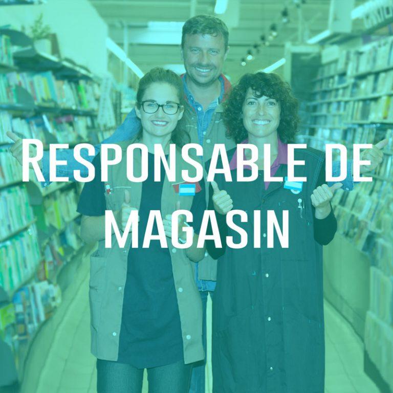 Responsable de magasin (H/F)